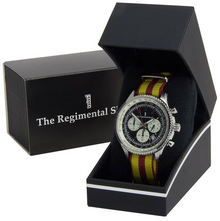 9th/12th Royal  Lancers Military Chronograph Watch - regimentalshop.com