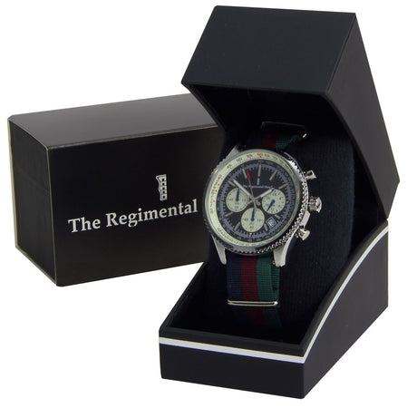 Black Watch Military Chronograph Watch - regimentalshop.com