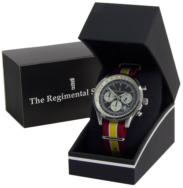 The Royal Lancers Military Chronograph Watch - regimentalshop.com