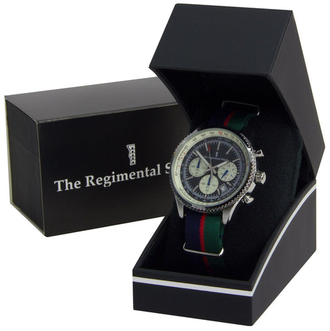 Royal Welsh Regiment Military Chronograph Watch