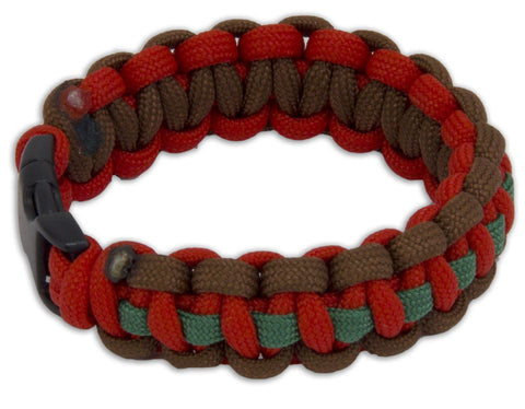 Royal Tank Regiment Paracord Bracelet