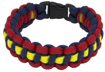 Royal Artillery Stable Belt Paracord Bracelet - regimentalshop.com