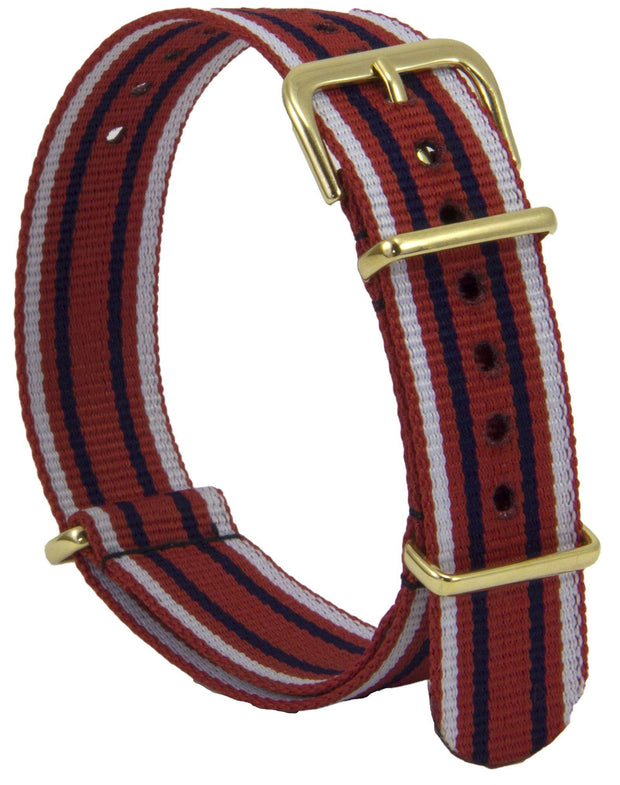 Queen Alexandra's Royal Army Nursing Corps (QARANC) G10 Watch Strap - regimentalshop.com