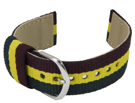 Royal Dragoon Guards Two Piece Watch Strap - regimentalshop.com