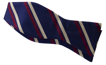 2nd Battalion  Royal Anglian Regiment (Poachers) Self Tie Polyester Bow Tie - regimentalshop.com