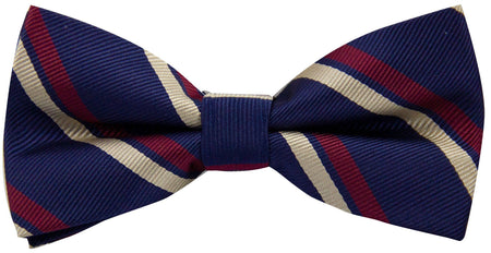 2nd Battalion Royal Anglian Regiment (Poachers) Pre-Tied Polyester Bow Tie - regimentalshop.com