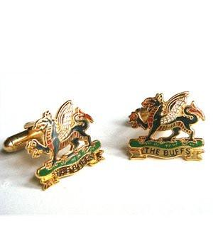 The Buffs Cufflinks - regimentalshop.com