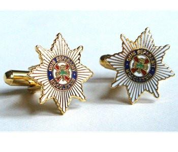 Irish Guards Cufflinks
