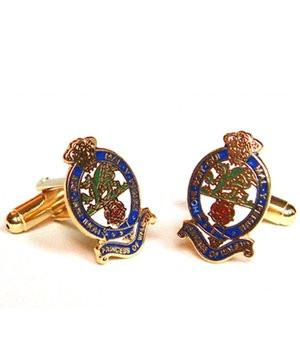 Princess of Wales's Royal Regiment Cufflinks - regimentalshop.com