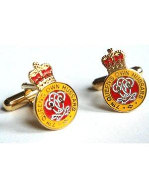 7th Queen's Own Hussars Cufflinks - regimentalshop.com