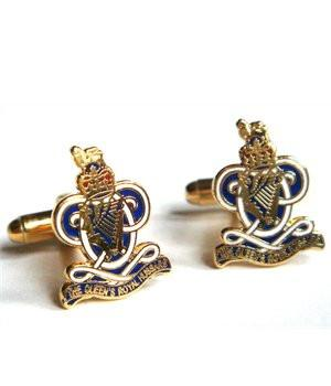 Queen's Royal Hussars Cufflinks - regimentalshop.com