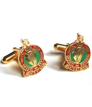 Queen's Royal Irish Hussars Cufflinks - regimentalshop.com