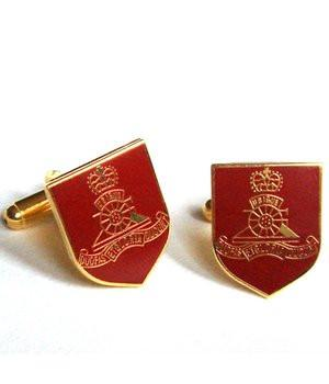 Royal Artillery Shield Cufflinks - regimentalshop.com