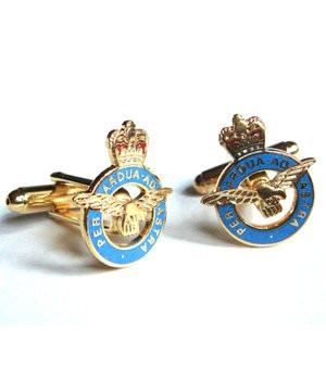 Royal Air Force (RAF) Cufflinks - regimentalshop.com