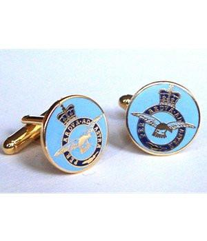 Royal Air Force Button Cufflinks