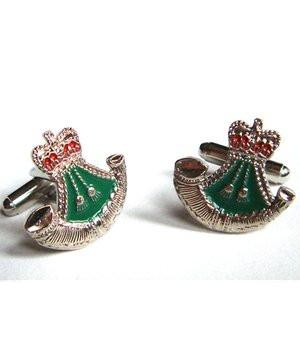 The Rifles Cufflinks - regimentalshop.com