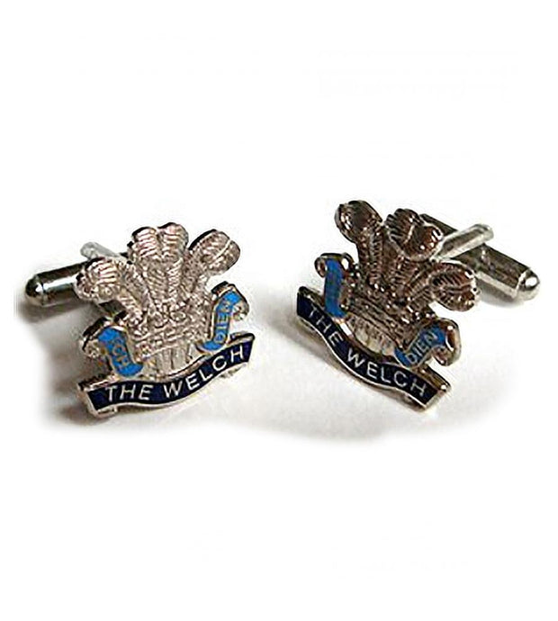 Welch Regiment Cufflinks - regimentalshop.com