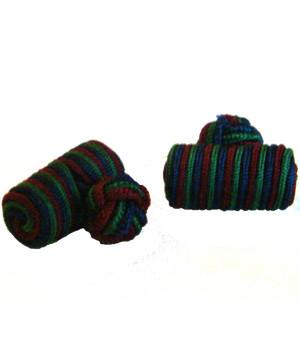 Black Watch Barrel Cufflinks - regimentalshop.com