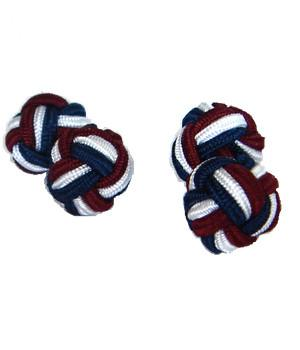 Queen's Dragoon Guards Knot Cufflinks - regimentalshop.com