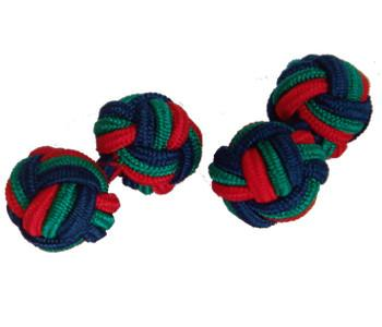 Royal Irish Regiment Knot Cufflinks - regimentalshop.com