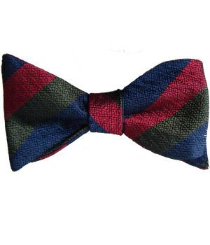 Black Watch Silk Non Crease (Self Tie) Bow Tie - regimentalshop.com