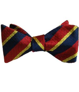 Honourable Artillery Company Silk Non Crease Self Tie Bow Tie