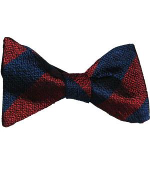 Household Division Silk Non Crease Self Tie Bow Tie - regimentalshop.com