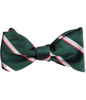Intelligence Corps Silk (Self Tie) Bow Tie - regimentalshop.com