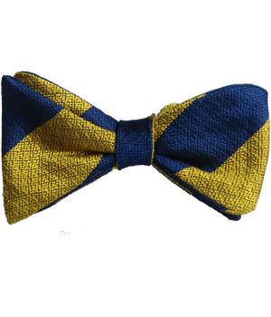 Princess of Wales's Royal Regiment Silk Non Crease Self Tie Bow Tie - regimentalshop.com