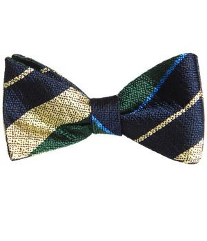 Queen's Royal Hussars Silk Non Crease (Self Tie) Bow Tie