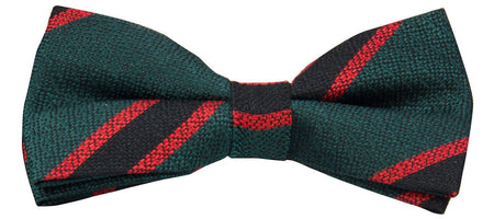 The Rifles Silk Non Crease (Pretied) Bow Tie - 40% off - regimentalshop.com