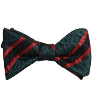The Rifles Silk Non Crease (Self Tie) Bow Tie - 40% off - regimentalshop.com