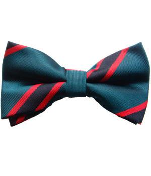 The Rifles Polyester (Pretied) Bow Tie - 18% off - regimentalshop.com