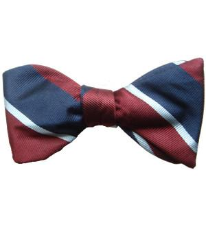 Royal Air Force (Self Tie) Silk Bow Tie - regimentalshop.com