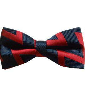 "Royal Artillery Woven Polyester ""Zig Zag"" (Pretied) Bow Tie"