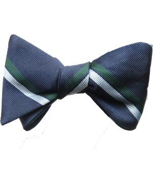 Royal Corps of Signals Silk (Self Tie) Bow Tie - regimentalshop.com