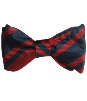 Royal Engineers Silk (Self Tie) Bow Tie - regimentalshop.com