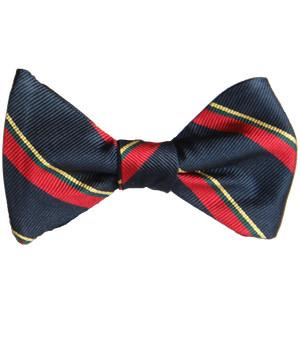Royal Marines Silk (Self Tie) Bow Tie