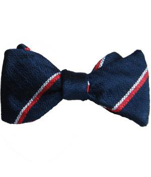 Royal Navy Silk Non Crease Self Tie Bow Tie
