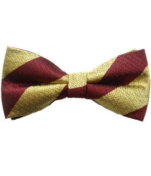 Royal Regiment of Fusiliers Silk Non Crease Pretied Bow Tie - regimentalshop.com