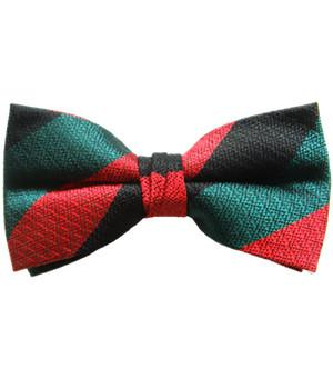 Yorkshire Regiment Silk Non Crease (Pretied) Bow Tie - regimentalshop.com