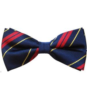 Royal Logistic Corps Polyester (Pretied) Bow Tie - regimentalshop.com