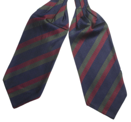 Black Watch Silk Non Crease Cravat - regimentalshop.com