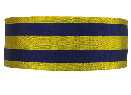 Princess of Wales's Royal Regiment Silk Non Crease Cummerbund - regimentalshop.com