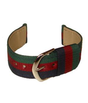 Black Watch Two Piece Watch Strap - regimentalshop.com