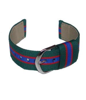Royal Irish Regiment Two Piece Watch Strap - regimentalshop.com