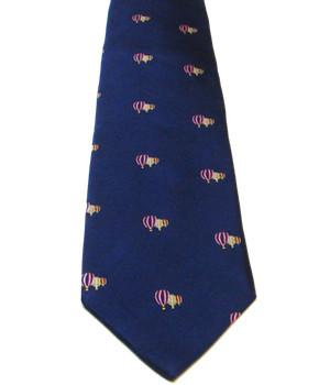 Hot Air Balloons Silk Tie