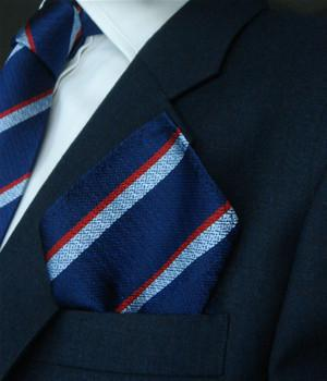 Army Air Corps Silk Non Crease Pocket Square - regimentalshop.com