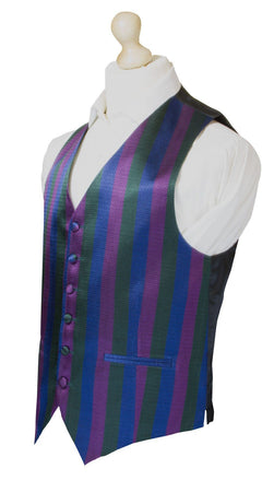 Royal Regiment of Scotland Silk Non Crease Waistcoat - regimentalshop.com