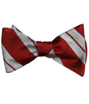 Queen's Royal Lancers Silk (Self Tie) Bow Tie